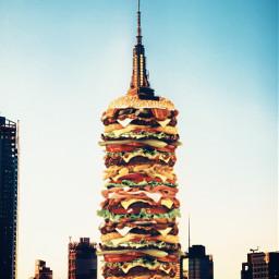 freetoedit burger remix mrlb2000 madewithpicsart ecgiantfood giantfood