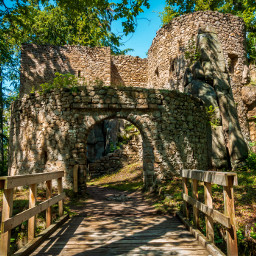 freetoedit castle ruins nature old