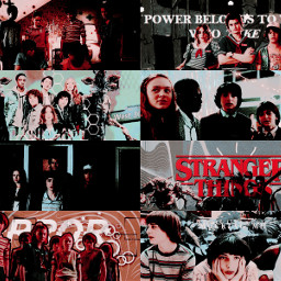 strangerthings strangerthingsedits tvseries collage graphicedit graphic editinspo aesthetic aestheticedit explorepage
