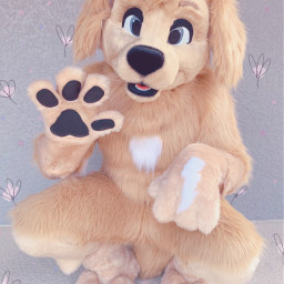 furry fursuit furries fur edit flowers flower cute pastel blur pink uwu owo kawaii dog dogs doggo doggy woof bark bork hehe fluffy fluff floof srcpastelflowers pastelflowers