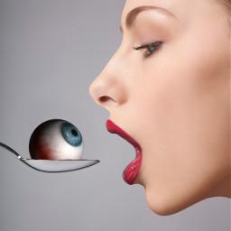 freetoedit shutterstock eyeball eat heypicsart