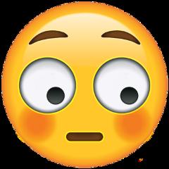 freetoedit emoji blushing embarrassed surprised