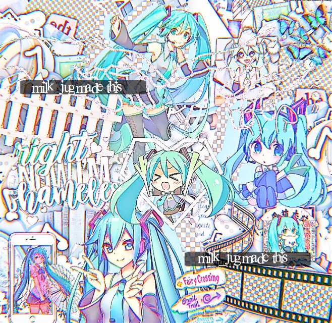 gm everyone:) no fancy desc cuz im lazy but heres miku i didnt forget my watermark this time😳 @diobrxndo_ @amarenahearts @mylilkpopedits @txria @cherrysuger_pop @moonlightpastel @kpopkeepsmegoing @kamichuu @canadaddy @a3esthetic-an1me @alaanime_16 @singingskyz @chromsfishsticks @raiina-bod @-taroboba @aestheticqueenrat @squirrel-chan dm me to be on or off or if you've changed your username<3 #freetoedit