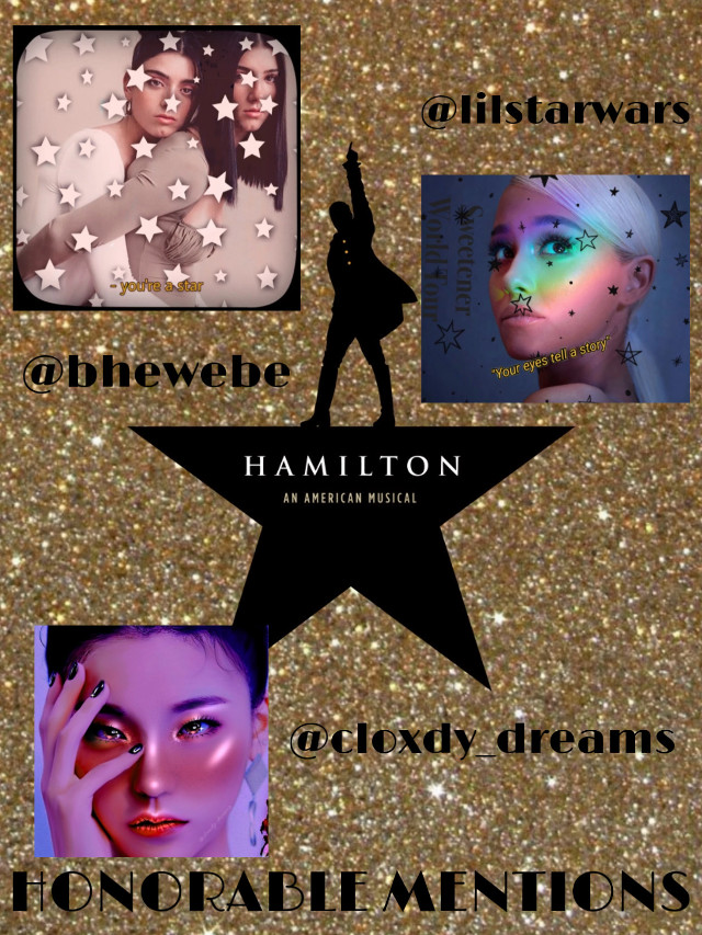 First up we have our honorable mentions: @lilstarwars @cloxdy_dreams and @bhewebe ! You guys have won a follow(if not already) and a like spam! Congrats! #freetoedit
