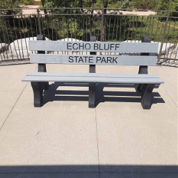 freetoedit bench park shade trees noedits