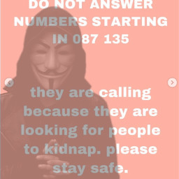 staysafe kidnapper kidnap personinhood hoodie scary phone call facetime stayhomestaysafe night mask scaryperson gatchalife warning homesweethome quotes writing live pink people bad art picsart vans freetoedit