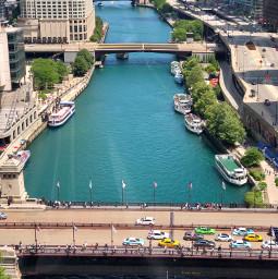 shareyourculture chicago chicagoriver michiganavenuebridge city freetoedit