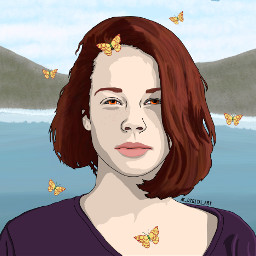 ac_digital_art art artist picsart picsartedit painting drawing portrait people girl girls graphicart graphicdesign vectorart vector vectors digitalart digitalpainting digitaldrawing butterfly