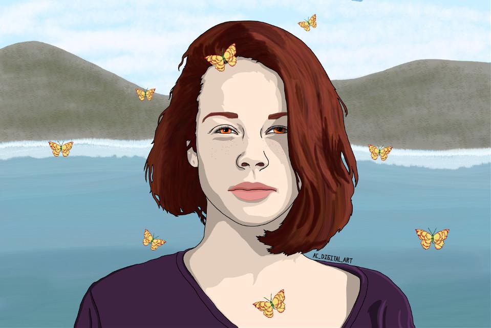 Here is this weeks new drawing.     #AC_DIGITAL_ART #art #artist #picsart #picsartedit #painting #drawing #portrait #people #girl #girls #graphicart #graphicdesign #vectorart #vector #vectors #digitalart #digitalpainting #digitaldrawing #butterfly