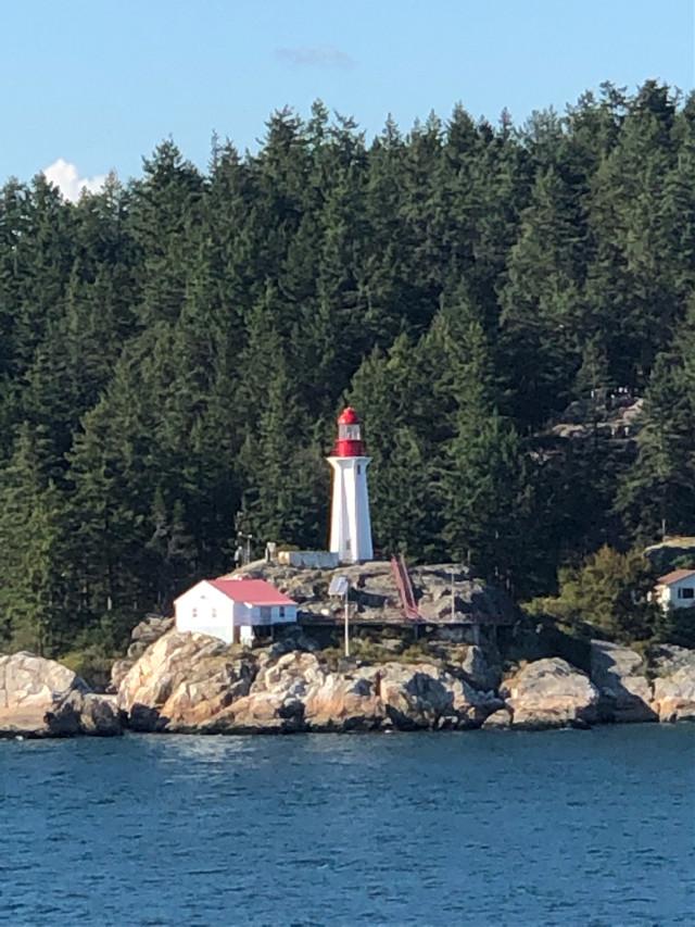 #lighthouse #lighthouses #rock #rocks #island #islands #town #water #beach #beaches #rockpile #tree #trees #cruiseship #cruiseship #disneycruise #disneycruiseline