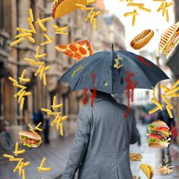 food rain giantfood freetoedit