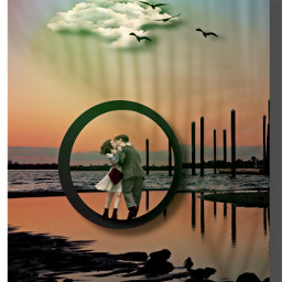 love lovecouple nature shadowmask shadoweffect prismeffect goldenhour madewithpicsart surreal fantasy imagination myedit freetoedit