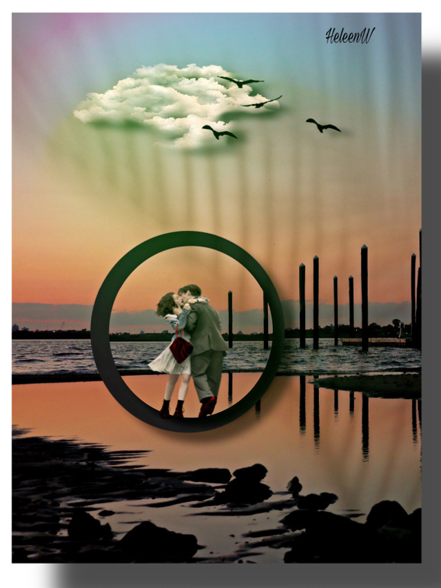 #love #lovecouple #nature #shadowmask #shadoweffect #prismeffect #goldenhour #madewithpicsart #surreal #fantasy #imagination #myedit #freetoedit