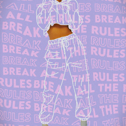 breaktherules style fashion purple pink badass photoedit picsart heypicsart myedit madewithpicsart effects lights draw erase girlpower aesthetic vignette girl pretty beauty papicks createfromhome stayinspired freetoedit