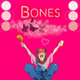 bones bananafish anime animeedit mobster ash ashlynx pink pinkanime butterfly cat eiji eijixash freetoedit