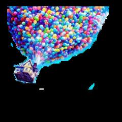 ballon ballonhouse house flyinghouse up freetoedit