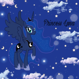 freetoedit mlp mlpedit mylittlepony princess princessluna luna dark night edit editedbyme