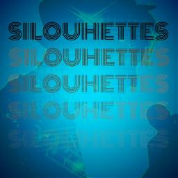 freetoedit picsart vipshoutout silouhette silouette siluetas text remix sticker dailytag remixed