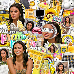 dioramber interesting yellow camilla mendes camillamendes music riverdale edit complex editedbyme editcomplex complexoverlay aesthetic icon love cute summer people travel wedding