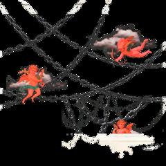 devil angel chains red edgy edgyaesthetic cloud angeldevil demon