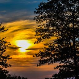 sundown dusk evening beautyinnature naturepoetry skyperfection gulloangleview trees cloudscape multicolored beautifulview tranquil peaceful serene scenery background desktop fullframe myphotography nikond5600 editwithphotoshopexpress