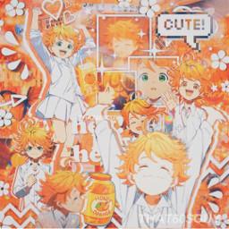 freetoedit thepromisedneverland thepromisedneverlandemma thepromisedneverlandedit emma anime orange animeorange orangeanime