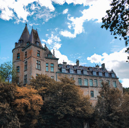 castle interesting durbuy nature photography sky belgium
