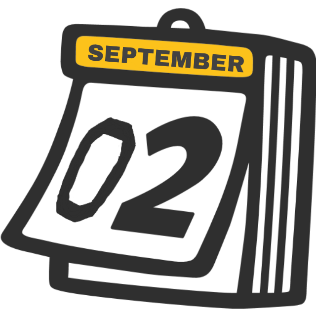 #calendar #sticker #02 #2 #two #september