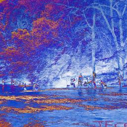 water stream children