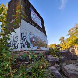 graffiti streetart nature lookup highrocks gladstone oregon freetoedit