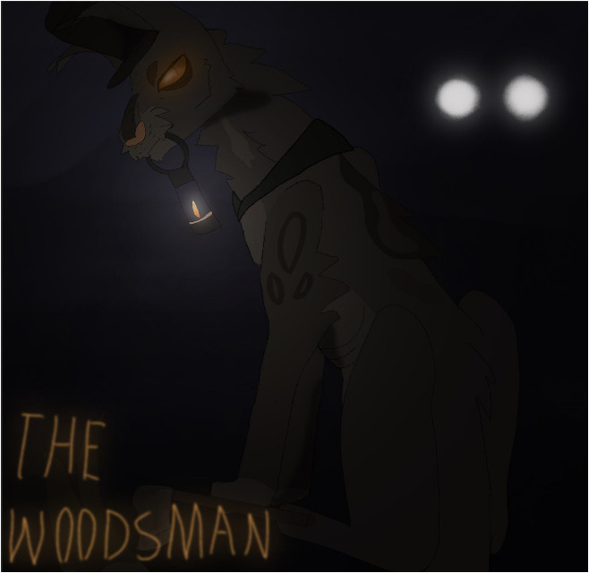 The Woodsman from Over the garden wall but I catified him because I cant draw humans ;-;   I really hope this comes out as good quality because I put wAy too much shading :')   #overthegardenwall #otgw #woodsman #overthegardenwall