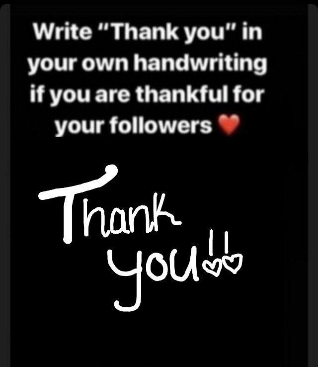 Thank u I know I dont have alot but thxs 😊 btw I'm working on making my edits better ik they suck