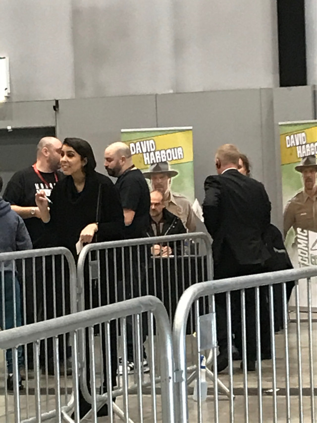 David Harbour at Liverpool Sci-fi Conv! (This was March 2020) #strangerthings #davidharbour #freetoedit