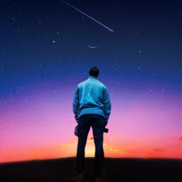 myedit stayinspired nightsky stars