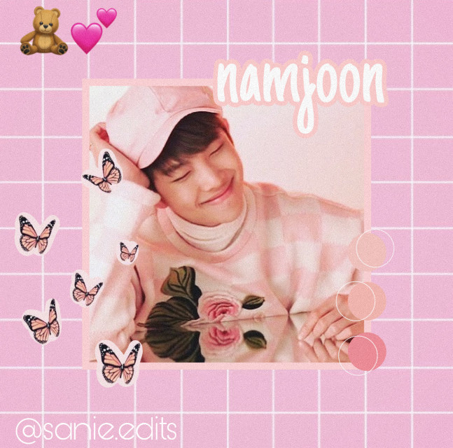 NAMJOON IS BABY🥺🌸🌸 . . . tags: #pinkaesthetic #kimnamjoon♡ #rmedit #bts  . . . taglist🤍 @jung_wooyoung99  @yunhosupportbott  @mariam_137  @atinypresent  @kang_mon  @nctinthehouse_05  @taes_shoes  @kirs_hop  @-matryosuga-  @seonghwa_eomma  . . . dm me to be added/removed from taglist✨