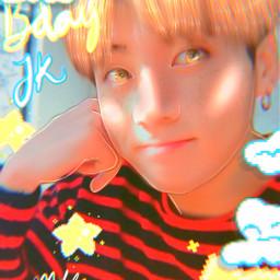 the jungkook bts happyjungkookday btsedit manipulation manip btsmanip kpop kpopedit clouds