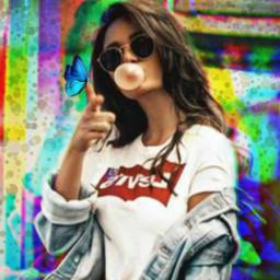colors efects girl cute art streetart happy emotions freetoedit