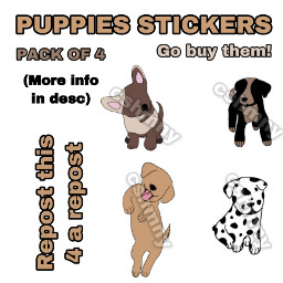 puppies dogs dog puppie stickers dogsticker redbubble redbubblestickers animals pets cshmny repost repostthis repostforrepost repost4repost