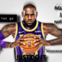 lebronjames lebron cool basketball nba sports background epic inspirational feelgood youcandoit justdoit freetoedit