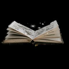 interesting silhouette book bird tree sparkle magic usethis art
