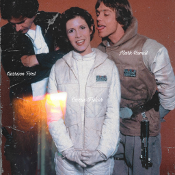 freetoedit markhamill carriefisher harrisonford hansolo