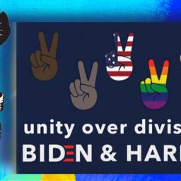 unityoverdivision bidenharris blm blacklivesmatter voteplease freetoedit