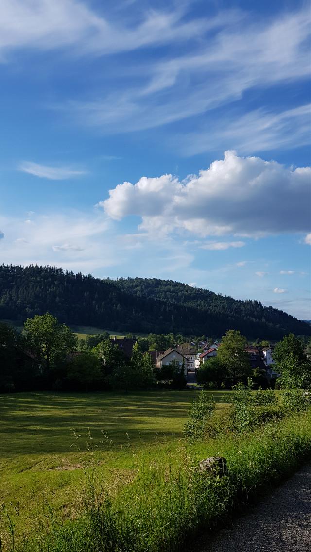My hometown ❤❤❤ °• •° #freetoedit  #blackforest #landscape #nature #photography