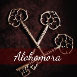 aesthetic alohomora harrypotter potterheadalways freetoedit