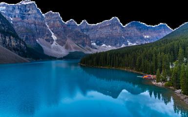 mountains lake freetoedit