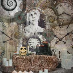timeisticking time watch old timesup times spiderwebs mirror mirroreffect fantasy fantasyland elajustme freetoedit ircinthemirror inthemirror