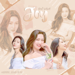 joy happyjoyday lightbrown aesthetic parkseoyoung pngedit film redvelvet idol kpop