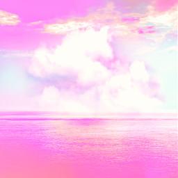 freetoedit picsart sky background clouds pinksky remix remixit