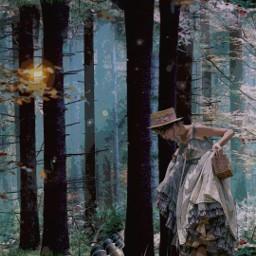 heypicsart fantasy magical forest trees surreal illustration myedit madewithpicsart picsarteffects mirroreffect stickeroverlay dustbrush comiceffect freetoedit