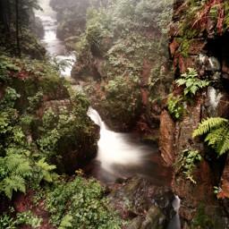 river waterfalls mountains rocks nature beautifulnature fogg foggyday afterrain myphoto travel adventure freetoedit